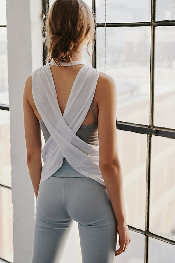 No Sweat Active Tank Solid by FP Movement at Free People