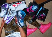 pants,pink,leopard print,air jordan,nike,nike shoes,leggings,shoes