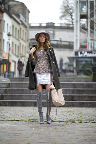 from brussels with love blogger suede boots grey boots wool coat
