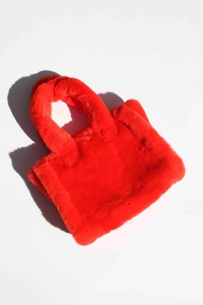 Liz Bag - Acid Red