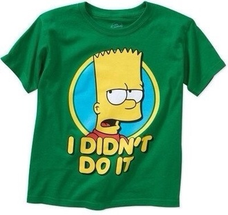 shirt green the simpsons simpsons shorts. bart simpson funny shirt yellow t-shirt girly swag summer