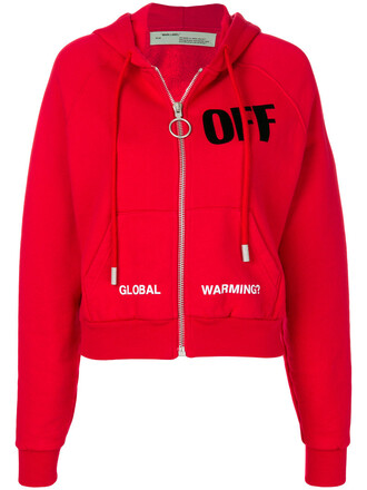 Off-white Red Hoodie - Shop for Off-white Red Hoodie on Wheretoget
