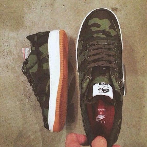 nike nike air force 1 camouflage