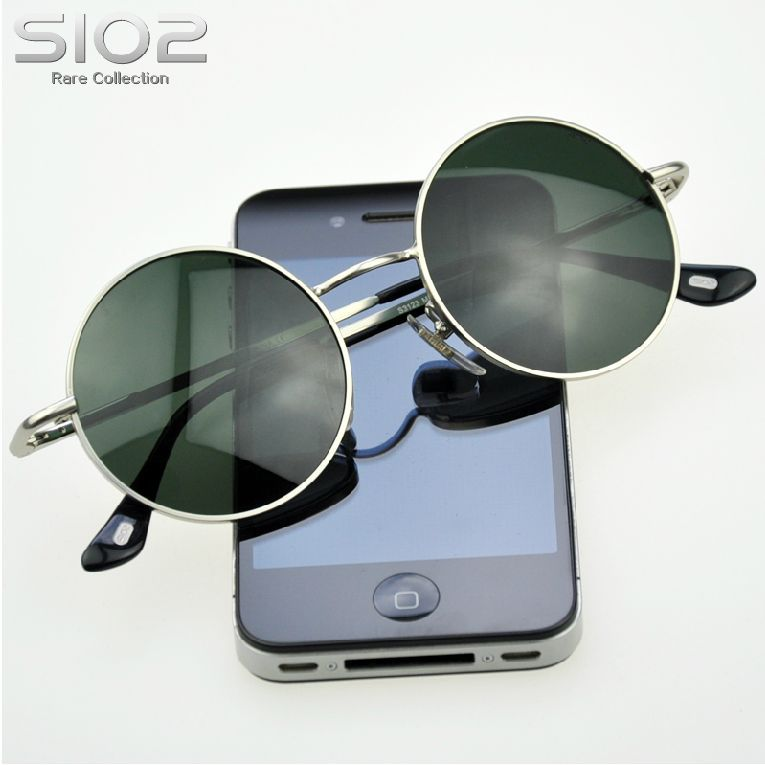 Aliexpress.com : Buy Hot Brand Sio2 Django style vintage man sunglasses circle sun glasses male prince round glasses Fashion casual eyewear from Reliable sunglass eyewear suppliers on Brand leather product store.