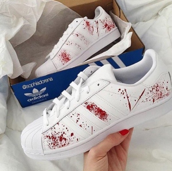 adidas superstar red hype