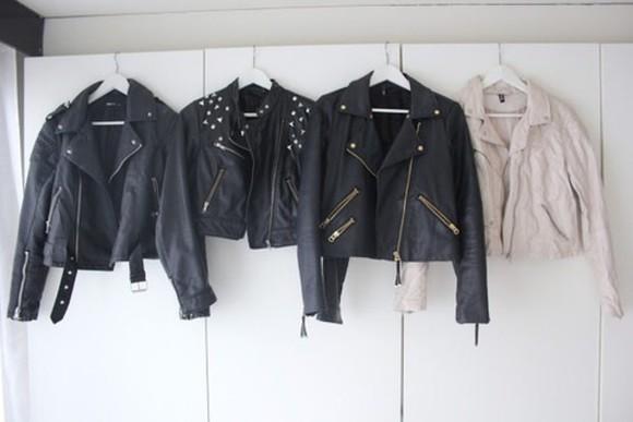 jacket black black jacket leather jacket black leather black leather jacket nitter