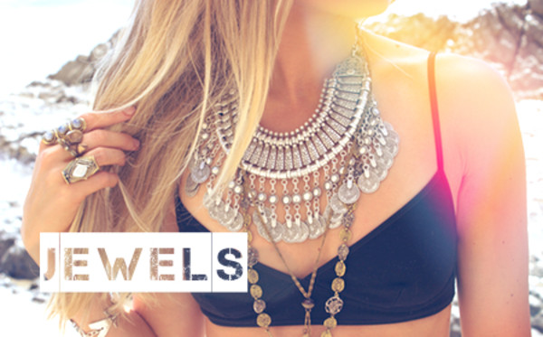 jewels jewelry necklace bohemian boho bib