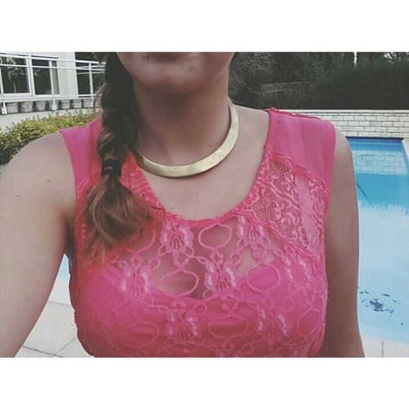 necklace summer outfits braid pink dress ootd gold necklaces indian design smile hair lifestyle july holidays