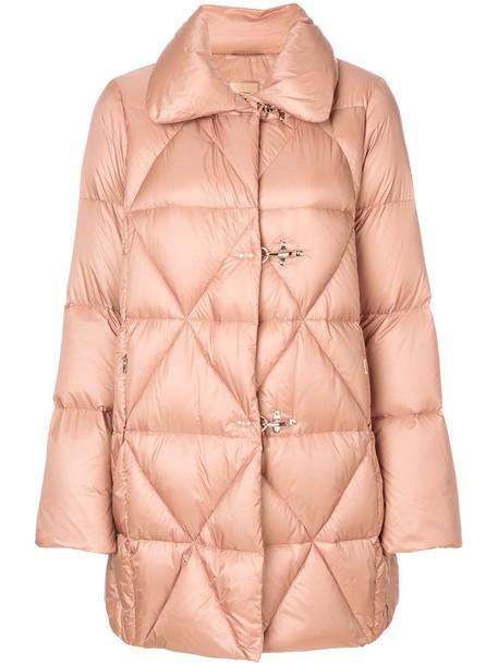 FAY jacket puffer jacket long women purple pink