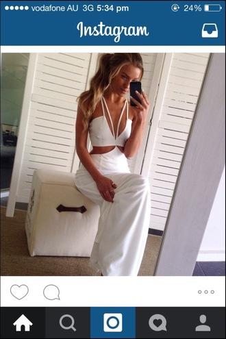 dress clothes girl cut-out dress