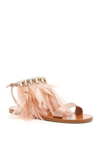 Miu Miu sandals satin shoes
