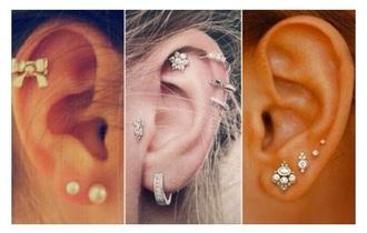 jewels ear piercings earings piercing jewels earings