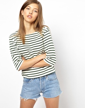 MiH Jeans | MiH Jeans The Breton Tee at ASOS