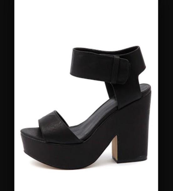 shoes wedge heels