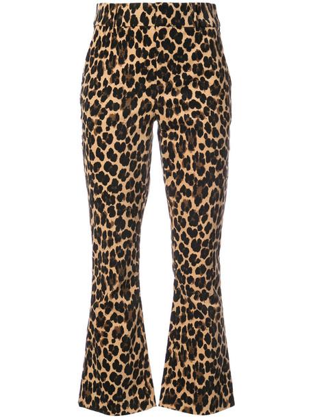 Frame Denim women spandex cotton print pants