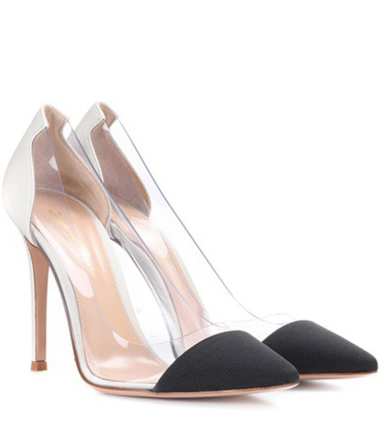 Gianvito Rossi transparent pumps leather shoes