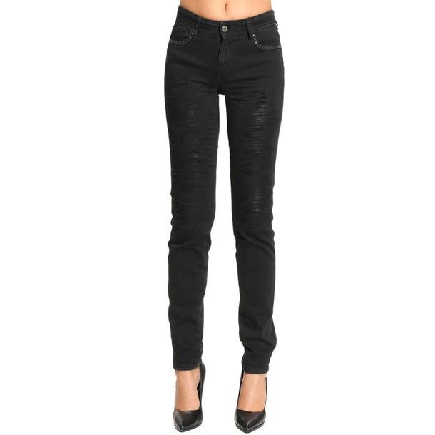 jeans women black