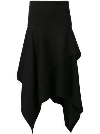 skirt high black