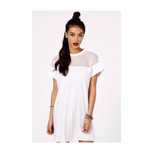 dress cute dress summer outfits t-shirt white t-shirt t-shirt only short sleeve