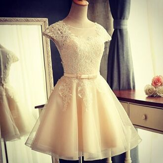 dress pink dress light pink white cute princess elegant dress elegant elegance party girl female festival new year's eve pink prom dress short dress prom skirt white dress love the color and style