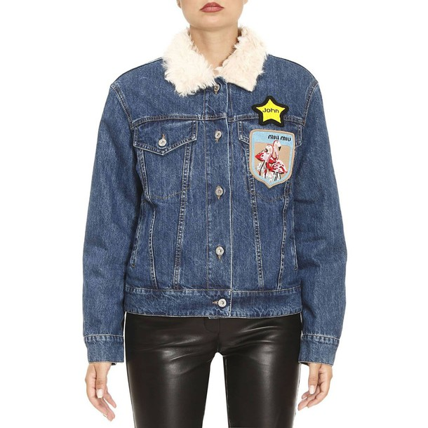Miu Miu jacket women denim