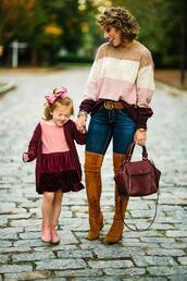something delightful,blogger,jeans,shoes,bag,belt,jewels,dress,cardigan