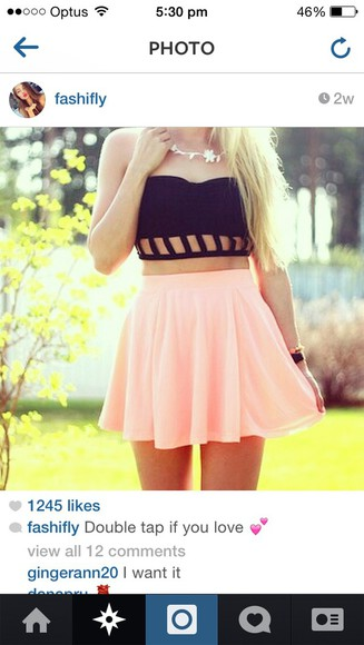 black summer outfits beautiful top croptop, neon, color blocked,