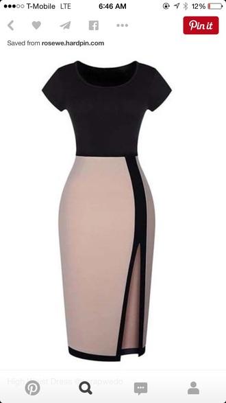 dress black dress little black dress beige dress cute dress fashion