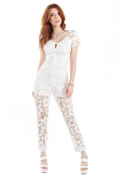 Wishful dreams white jumpsuit · trendyish · online store powered by storenvy