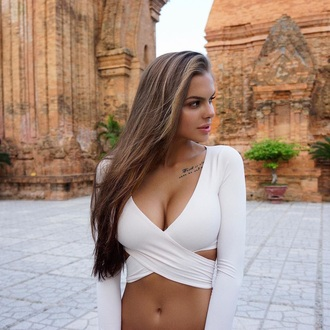 top shirt white top