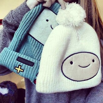 hat emo cute hippie hipster adventure time adventure time beanie alabstra