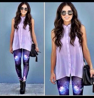 pants galaxy leggings