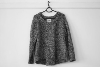 sweater gris pull