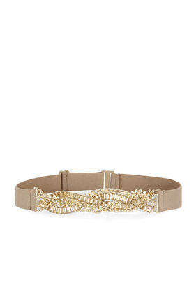 Braided Stone Waist Belt | BCBG