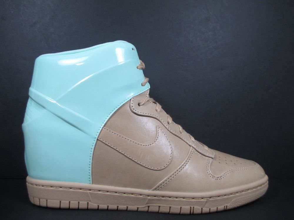 Nike Dunk Sky Hi VT QS Women's Size 11 Shoes Vanchetta Tan Green Hidden Wedge | eBay
