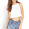 Cropped muscle tee | forever21 - 2000061953