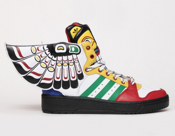 adidas Jeremy Scott Totem Eagle Wings - Livraison gratuite en France