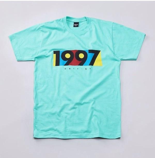 shirt 1997 vintage trill blue top t-shirt