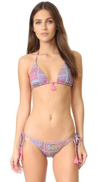 bikini bikini top triangle bikini triangle basic swimwear