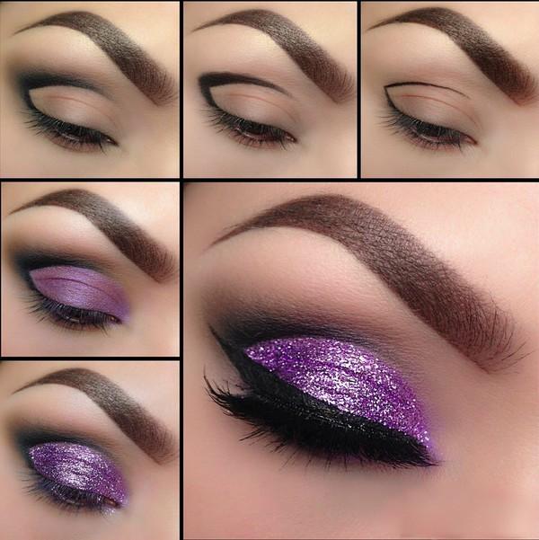 make-up eye shadow eye makeup purple