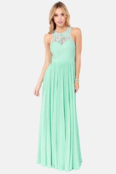 dress prom dress mint mint long long dress long prom dress