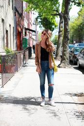 che cosa,blogger,bag,pants,top,jacket,sunglasses,shoes