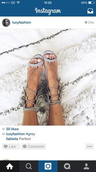 shoes nude high heel sandals