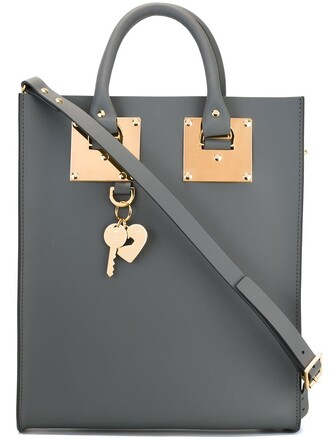 mini grey bag