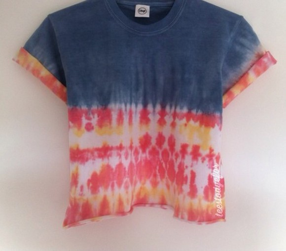shirt adorable cute tie dye