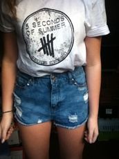 shirt,5 seconds of summer,t-shirt,tumblr,band,one direction,band t-shirt,fan,music,derping since 2011,rock,luke hemmings,michael clifford,ashton irwin,calum hood,5sos tees,5sos top,5sos merch