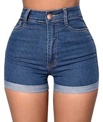 shorts high waisted denim tight jeans
