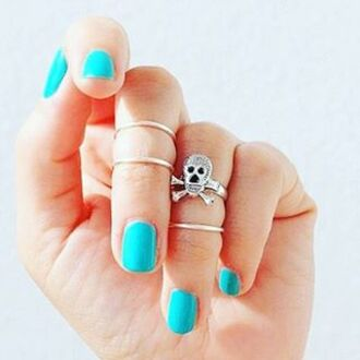 jewels knuckle ring gold midi rings mid rings ring skull ring skull jewelry skull silver ring silver jewelry costume jewlery fashion jewelry boho jewelry bohemian bohemian jewelry