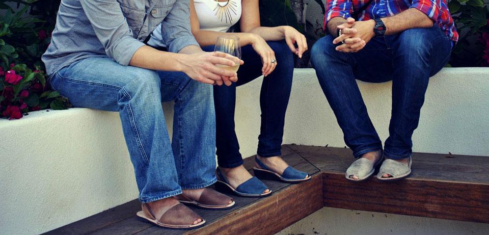 Летняя испанская обувь абаркасы