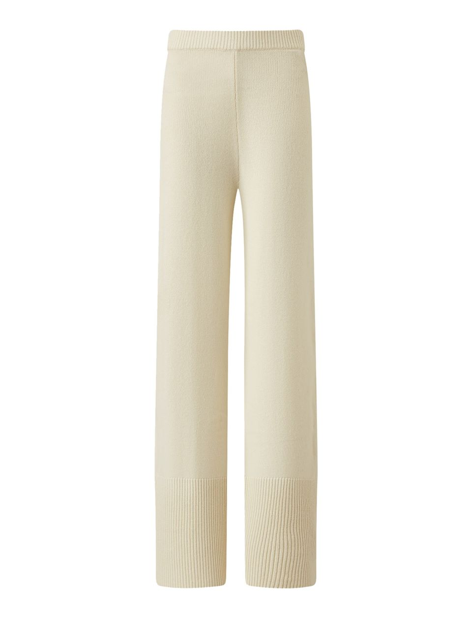 Pure Cashmere Knit Trousers
